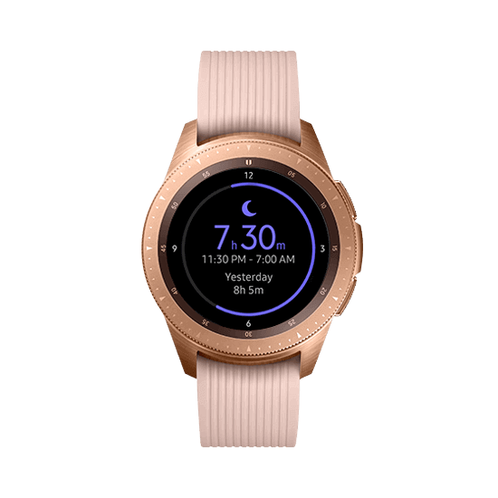 Galaxy watch betterment rosegold